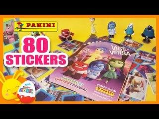 Vice-versa - 80 Images stickers Panini - Titounis