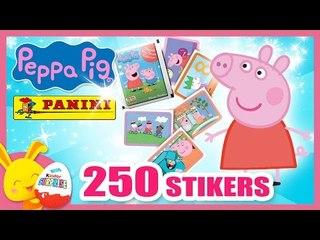 Peppa Pig - 250 Images stickers Panini - Titounis