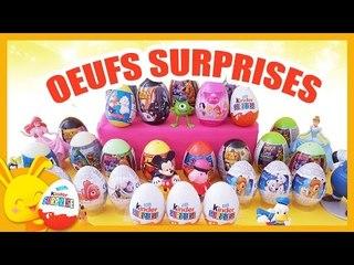 Oeufs surprises Kinder Princesses, cars, Disney, spiderman - Titounis - Touni Toys