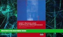 Big Deals  Asset Pricing and Portfolio Performance: Models, Strategy and Performance Metrics  Free