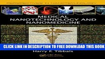 New Book Medical Nanotechnology and Nanomedicine (Perspectives in Nanotechnology)