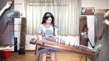Seven Nation Army joué sur un instrument Koréen Traditionnel à Cordes