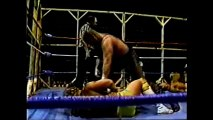Sheepherders/Jack Victory vs Fantastics/Terry Taylor (Barbed Wire May 25, 1986)