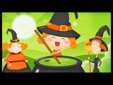 La chanson d'Halloween avec les petites sorcières pour les enfants !