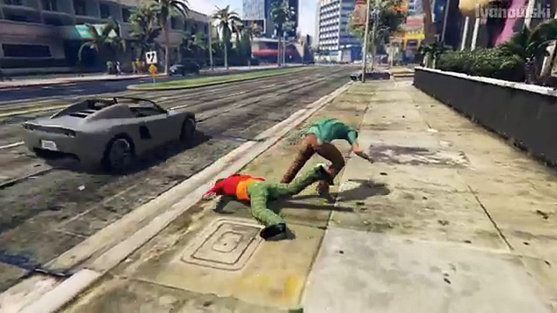 gta 5 brutal kills and epic moments