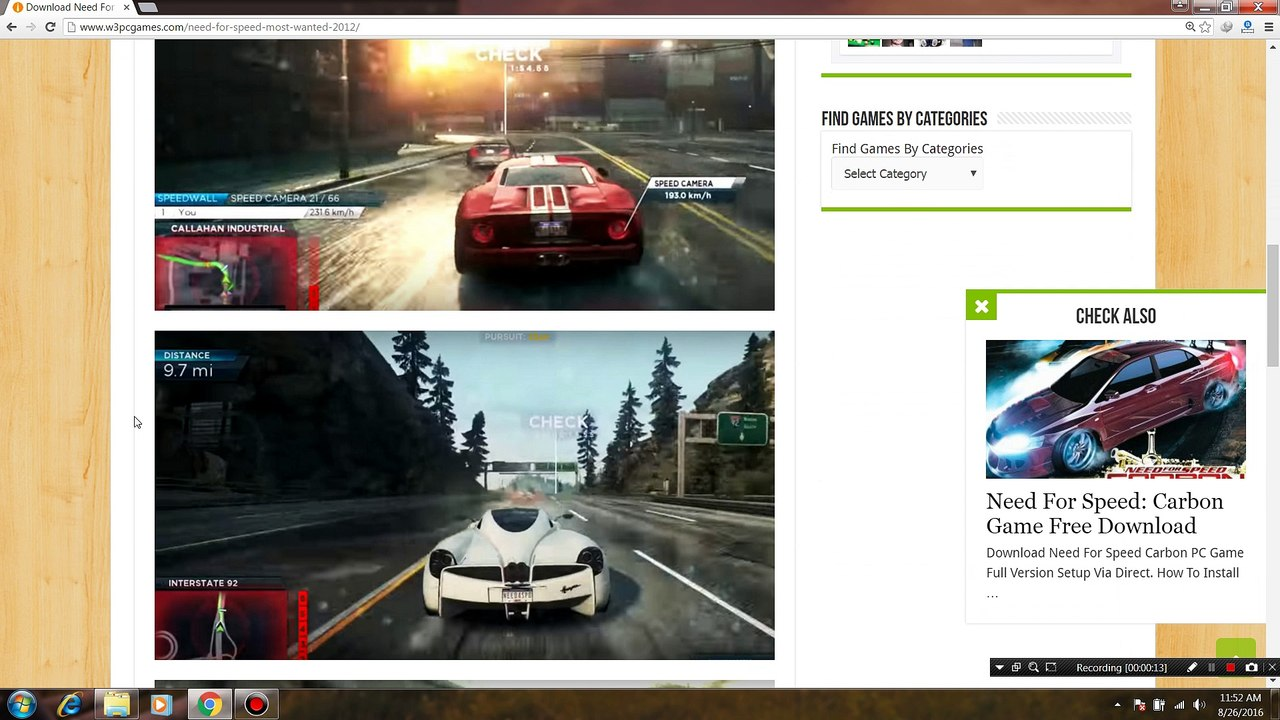 need for speed pc download 2012