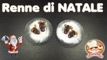 LE RENNE DI BABBO NATALE arrivano sulla tua tavola per un dolce NATALE 2016. RICETTE PER BAMBINI