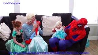 Người nhện và Nữ hoàng băng giá Elsa Cu
