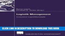 [Download] Logistik Management: Innovative Logistikkonzepte (German Edition) Paperback Online