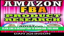 [PDF] Amazon FBA: Product Research: How to Search Profitable Products to Sell on Amazon: Best