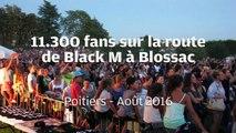 VIDEO. Poitiers : 11.300 fans sur la route de Black M