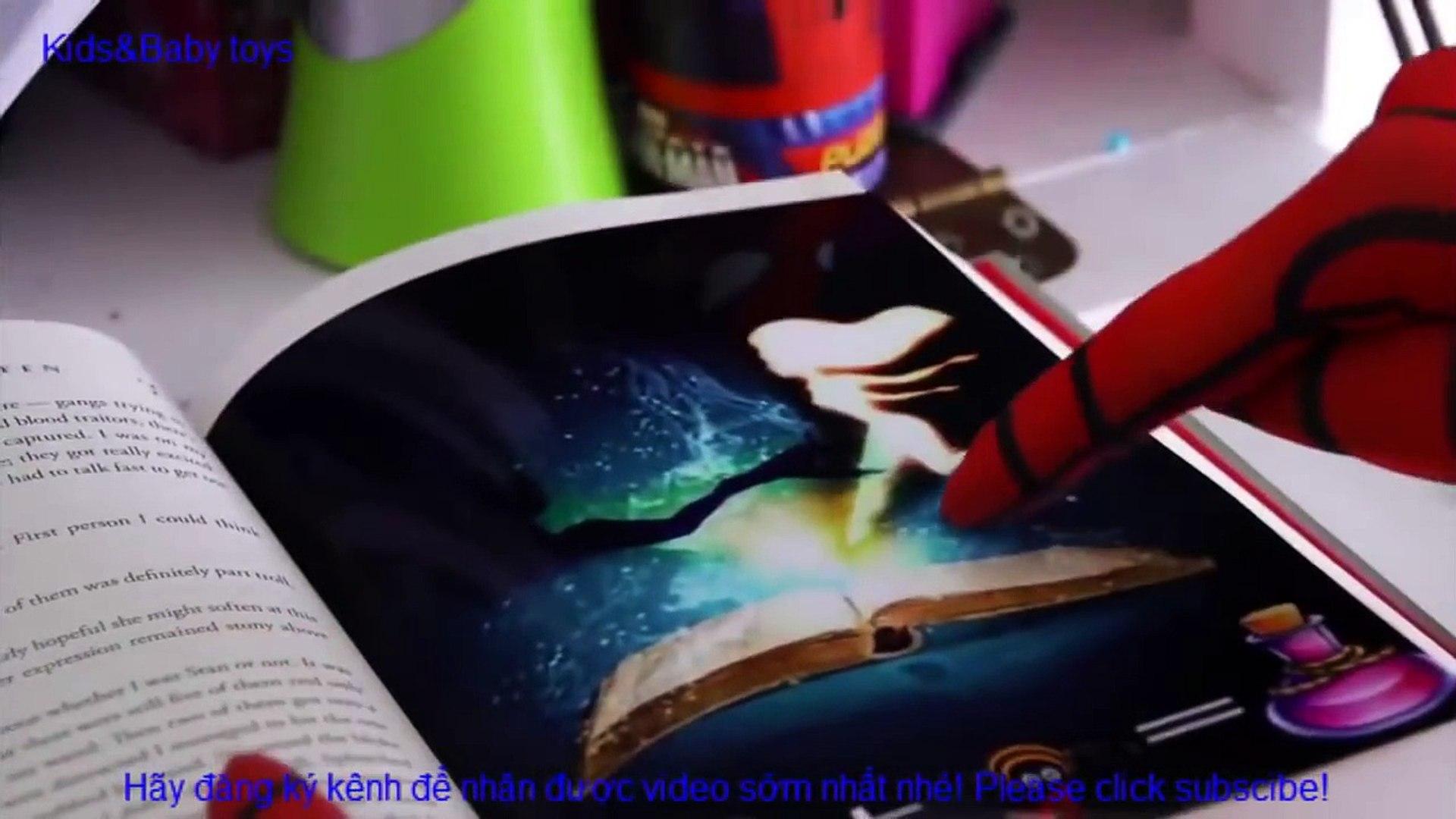 Người nhện và Nữ hoàng băng giá Elsa - Cuộc sống hàng ngày cùng joker 2016