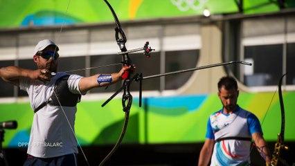 Jean-Charles Valladont, vice-champion olympique 2016 de tir à l'arc