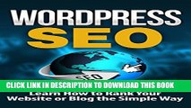 [PDF] WordPress: WordPress SEO-Learn How to Rank Your Website or Blog the Simple Way - SEO for