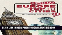 [PDF] Let s Go Europe Top 10 Cities: The Student Travel Guide (Let s Go: Europe Top 10 Cities)