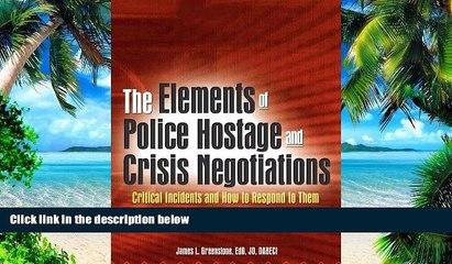 training strategies for crisis and hostage negotiations slatkin arthur a