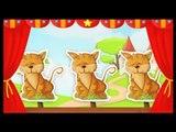 3 petits chats - comptines pour enfants