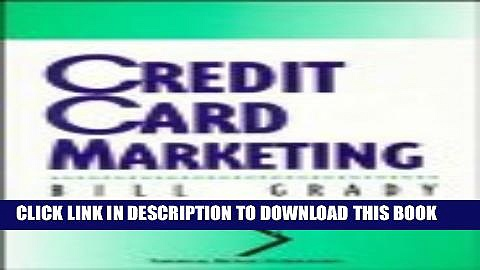 Collection Book Credit Card Marketing (National Retail Federation)
