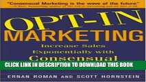 Collection Book OPT-IN MARKETING : How the Breakthrough Process of Consensual