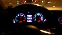 il roule a  316 kmh avec une Audi RS6