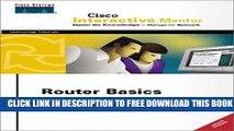 Collection Book Router Basic Simulator: Cisco Interactive Mentor