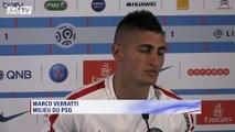 """PSG - Marco Verratti évoque son """"année très difficile"""""""