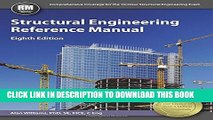 New Book Structural Engineering Reference Manual, 8th Ed