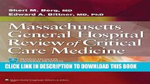New Book Massachusetts General Hospital Review of Critical Care Medicine