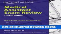 New Book Medical Assistant Exam Review Fourth Edition (Kaplan Medical Assistant Exam Review)