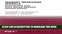 New Book Market Response Models: Econometric and Time Series Analysis (International Series in