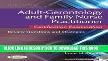 Collection Book Adult-Gerontology and Family Nurse Practitioner Certification Examination: Review