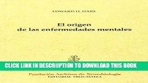 [PDF] El Origen De Las Enfermedades Mentales (Spanish Edition) Full Online