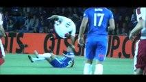 Joey Barton Gets Taken Out vs Kilmarnock F.C.
