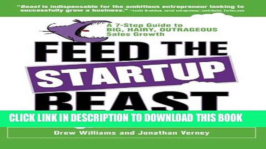 Collection Book Feed the Startup Beast: A 7-Step Guide to Big, Hairy, Outrageous Sales Growth