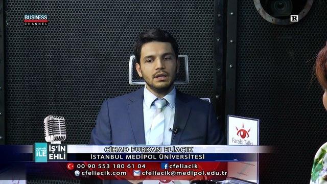 Farabi Talks at Business Channel Türk- Cihad Furkan ELİAÇIK informs the public about Farabi Talks