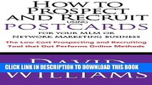 Collection Book How to Prospect and Recruit using Postcards for your MLM or Network Marketing