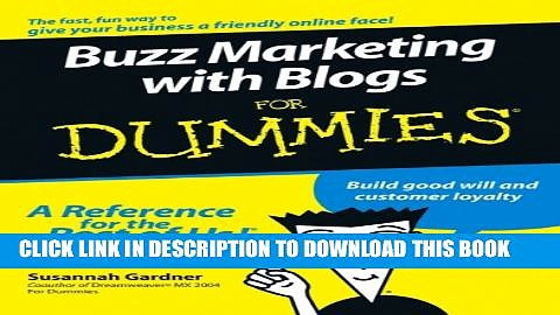 Collection Book Buzz Marketing with Blogs For Dummies