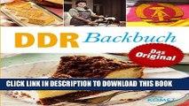 [PDF] DDR Backbuch: Das Original: Rezepte Klassiker aus der DDR-Backstube (Minikochbuch) (German