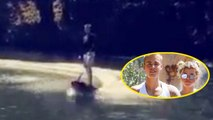Justin Bieber Shows Off Epic Wakeboarding Skills With Sofia Richie
