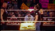 Brock lesnar attacks dean ambrose and roman reigns fastlane contract sign 8 feb 2016