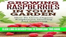 New Book Growing Raspberries In Your Garden - How To Grow Organic Raspberries, Growing and