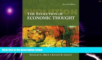 Big Deals  The Evolution of Economic Thought (with InfoTrac 1-Semester, Economic Applications
