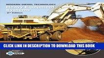 New Book Modern Diesel Technology: Heavy Equipment Systems