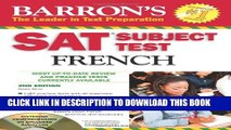 Collection Book SAT Subject Test French: With 3 Audio CDs (Barron s SAT Subject Test French (W/CD))