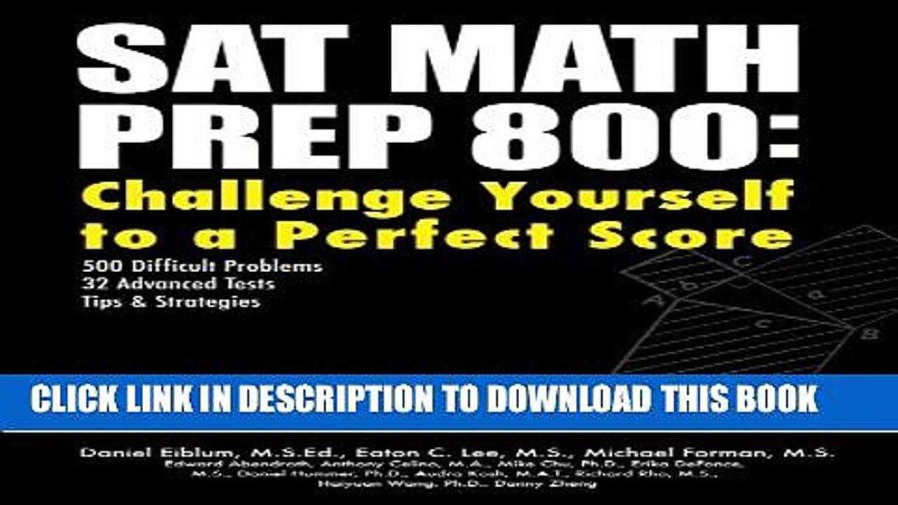 the perfect score book