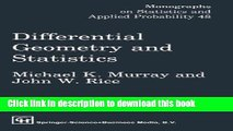 PDF Download Differential Geometry and Relativity Theory: An