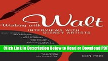 [PDF] Working with Walt: Interviews with Disney Artists Free Online