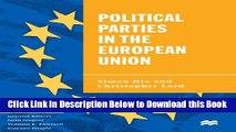[Best] Political Parties in the European Union (The European Union Series) Online Books
