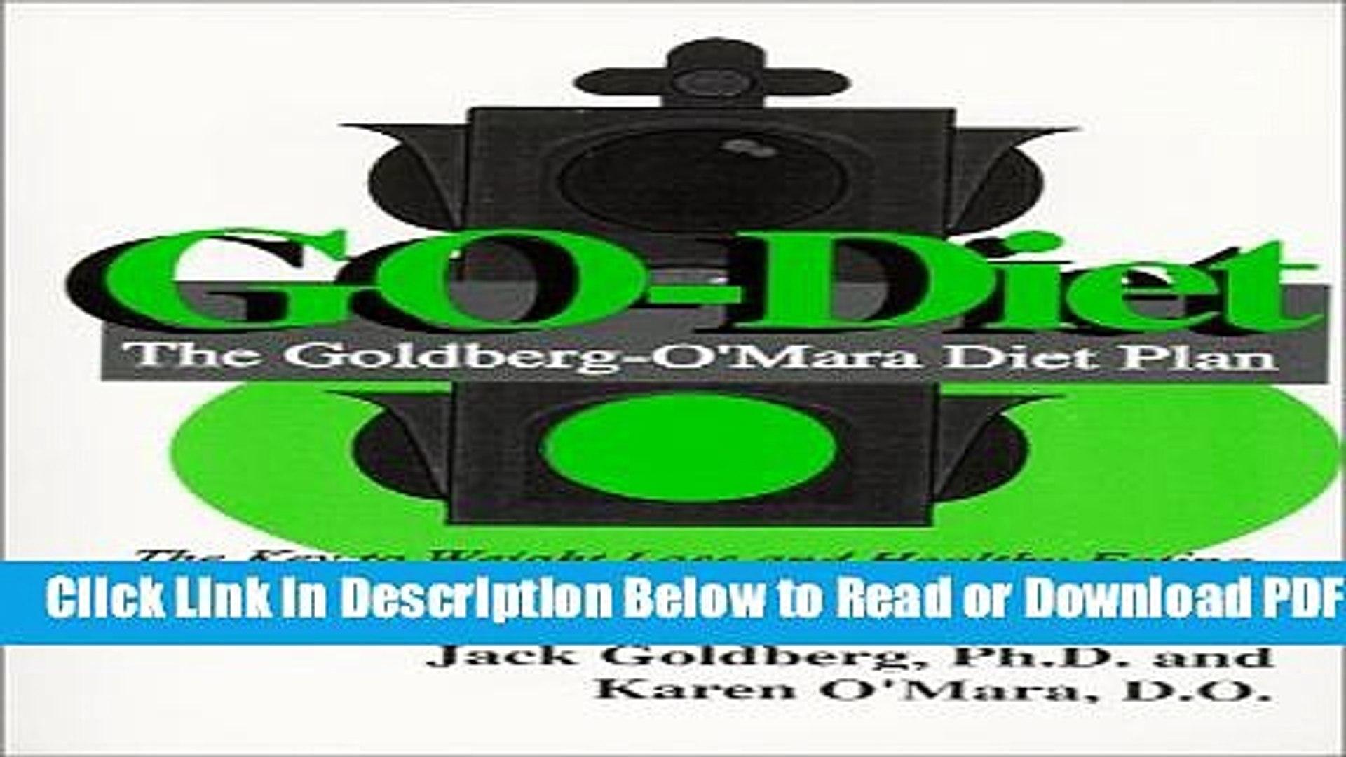 [Get] GO-Diet, The Goldberg-O Mara Diet Plan Popular New