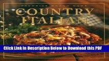 [Read] Favorite Brand Name: Country Italian (Favorite Brand Name Recipes) Ebook Free